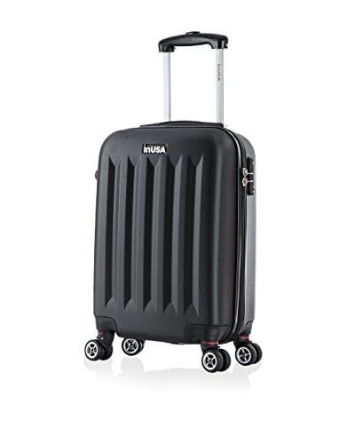 InUSA Philadelphia 19 Carry-On Hardside Luggage, Black