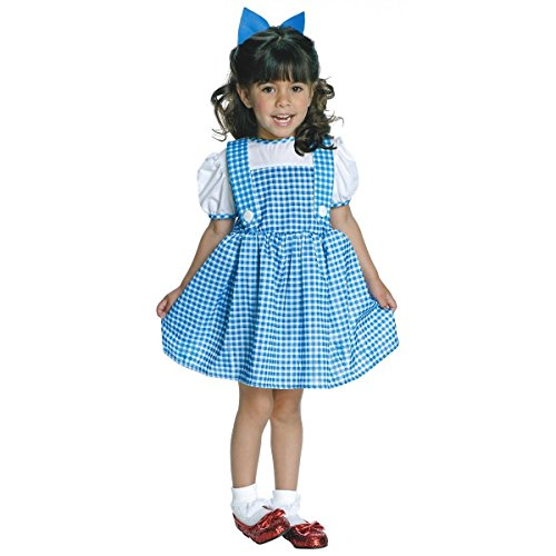 GSG Dorothy Costume Baby Wizard of Oz Gingham Dress Halloween Fancy Dress (Zombie Cowgirl Costumes)