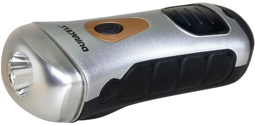 Duracell 60-066 Self Powered Led Flashlight And Phone Charger