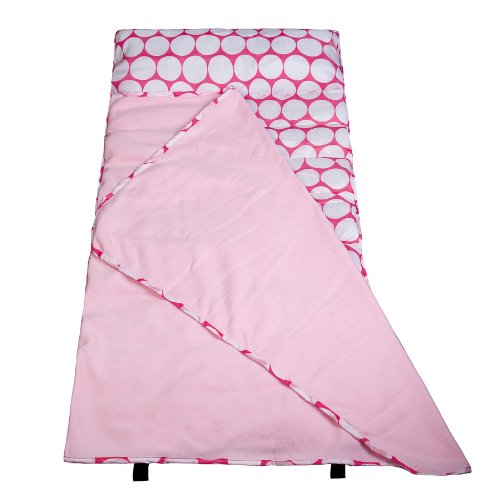 wildkin-big-dot-pink-and-white-easy-clean-nap-mat-one-size