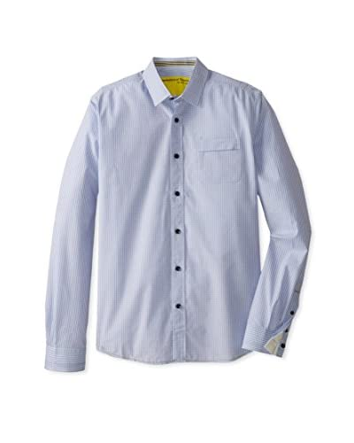 Descendant of Thieves Men's Right Face Check Long Sleeve Shirt