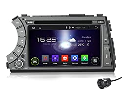 See Pumpkin 7 inch Android 4.4 Kitkat For SsangYong Actyon Sport/Kyron 2005-2012 Double Din In Dash HD Capacitive Touch Screen Car DVD Player GPS Navigation Stereo Support Bluetooth/SD/USB/Ipod/FM/AM Radio/OBD2/DVR/3G/AV-IN/1080P with Rear View Camera as gift Details