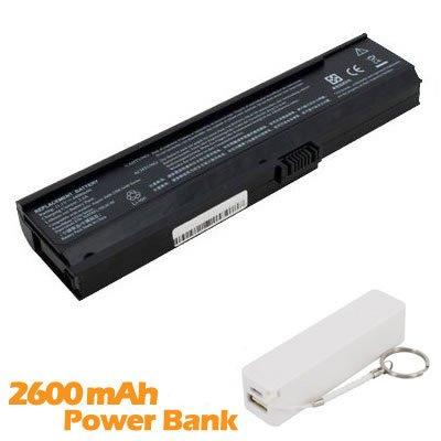 Battpit Batterie d'ordinateur Portable de Remplacement pour Acer Aspire 361x (4400mah / 49wh) avec 2600mAh de banque de puissance / batterie externe (