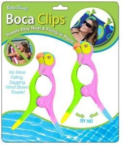 Learn More About Boca Beach Towel Clips Parrot