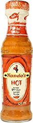 Nandos Hot Peri Peri Sauce, 125ml