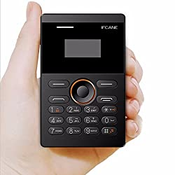 iFcane E1 1inch Mini Cell Card Phone Student Version LED High Clear Screen GSM FM Bluetooth AIEK E1 X6 slim small mobile phone