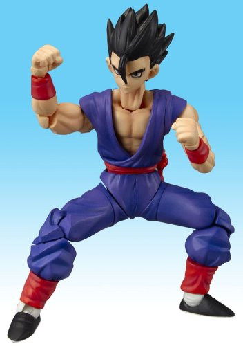 Dragonball Z BanDai Hybrid Action Mega Articulated 4 Inch Action Figure SS Gohan (Gohan Action Figure compare prices)