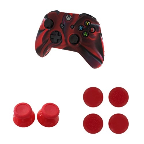 Pythons New Silicone Cover Case Skin Controller & Grip Stick Caps & Thumbsticks Joysticks Cap Shell Mushroom Caps For Xbox One