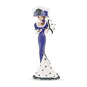 The Bradford Exchange 'Highland Beauty' - Patriotic Lady Figurine - Inspired by the 'Bonnie Scotland' Poem