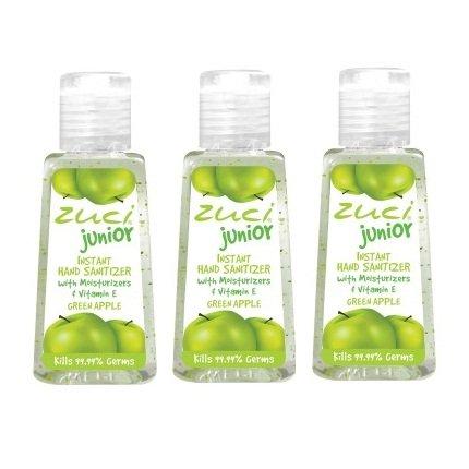 Zuska Junior Hand Sanitizer Green Apple
