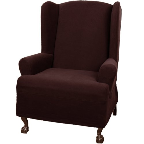 Surefit Chair Covers Wing chair slipcovers: May 2012: If finding the best cheap ...