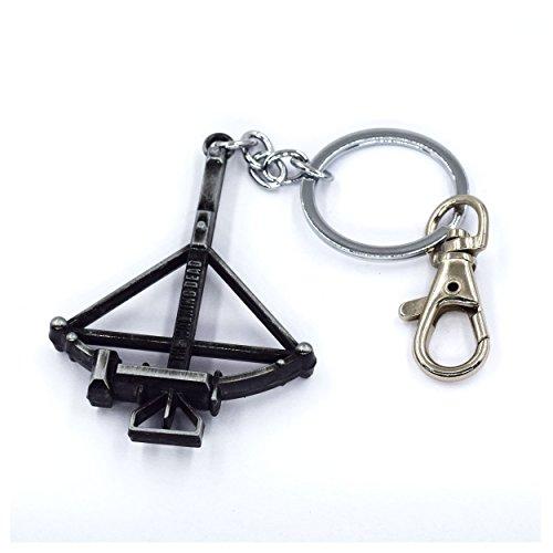 Glowlala® The Walking Dead keychain, Daryl Dixon Crossbow key ring Jewelry