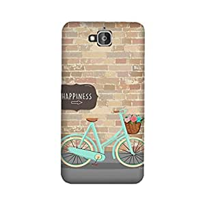 StyleO Honor Holly 2 Plus Designer Printed Case & Covers (Honor Holly 2 Plus Back Cover) - Happiness Bicycle