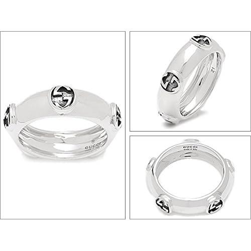 グッチ リング レディース GUCCI 341193 J8400 0701 INTERLOCKING G SMALL 指輪 シルバー[並行輸入品]