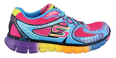 Skechers Womens Synergy Knockout Multi Fashion Sneakers 7 B(M) US Womens