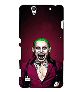 EPICCASE Scary Man with Greem hair Mobile Back Case Cover For Sony Xperia C4 (Designer Case)