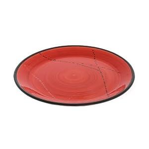 dinner plate round handmade ceramic