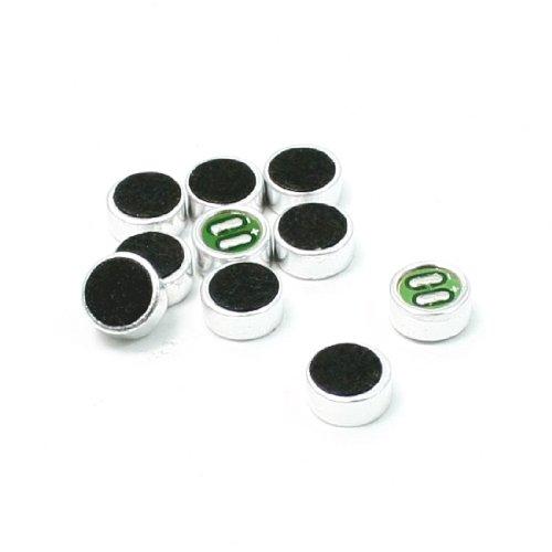 Mic Capsule Electret Condenser Microphone 6Mm X 2.7Mm 10 Pcs