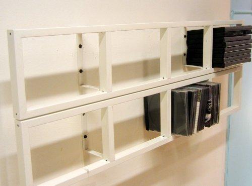 Ikea Kleiderschrank Qualität ~ Imagen de IKEA  LERBERG CD DVD estante de pared, blanco (X 2)