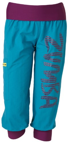 Zumba Fitness LLC Up Down Cargo Capri, Small, Lagoon