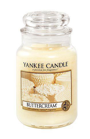 Yankee Candle 22-Ounce Jar Scented Candle, Large, Buttercream