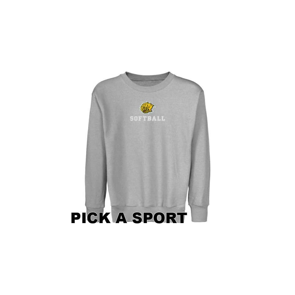 Arkansas Pine Bluff Golden Lions Youth Ash Custom Sport