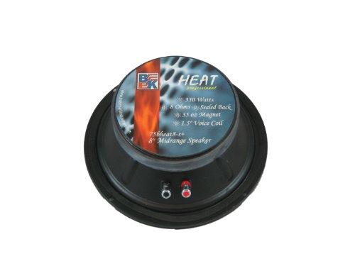 Blast King I75Bheat Sealed Back 350 Watt Mid-Range Speaker, 8-Inch - Heat Professional