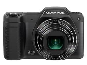 Olympus Stylus SZ-15 Appareil photo numérique 16 Mpix Zoom optique 24x Noir