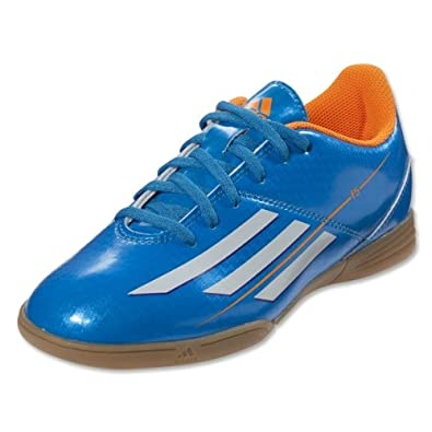 Buy Adidas F5 Indoor Junior Soccer Shoes - Solar Blue (Big Kid) by adidas