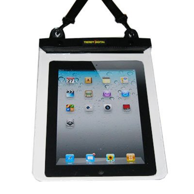 TrendyDigital Camera Friendly WaterGuard Waterproof Case for Apple iPad 2, Second Generation iPad