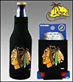 SET OF 2 CHICAGO BLACKHAWKS CAN & BOTTLE KOOZIE COOLER at Amazon.com