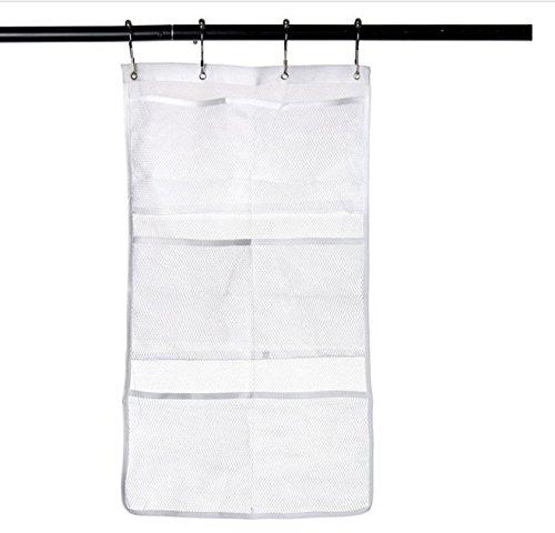 Highdas 1 Mesh Bath Organizer Douche Rangement Savon Shampooing toilette Accrocher avec 4 crochets
