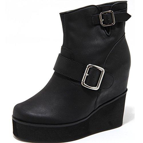 6708H tronchetti zeppe donna JEFFREY CAMPBELL mclane scarpe ankle boots women [40]