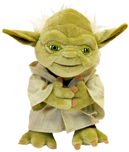 Star Wars Stuffed Animal Yoda S By Morley Toys Import It All