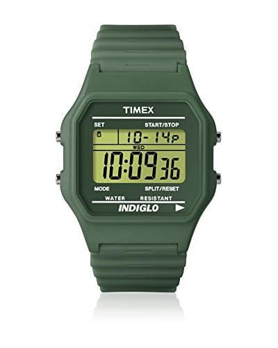 Timex Orologio al Quarzo Unisex Classic Grey Ash Verde Scuro 34 mm