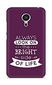 Amez Always look on the Bright Side of Life Back Cover For Meizu MX5
