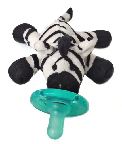 Wubbanub Infant Plush Toy Pacifier (Zebra) front-1026557