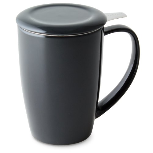 forlife-curve-tall-tea-mug-with-infuser-and-lid-15-ounces-black-graphite