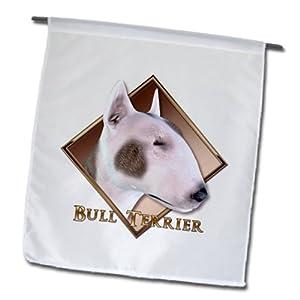 Boehm Graphics Dog - Bull Terrier - 12 x 18 inch Garden Flag (fl_52429_1)