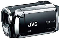 JVC Everio MS120 Dual Flash Camcorder (Black)