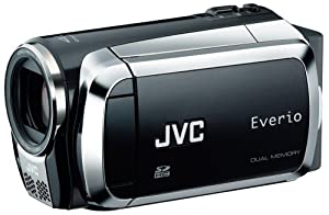 JVC Home JVC Everio MS130 16GB Dual Flash Camcorder (Black)