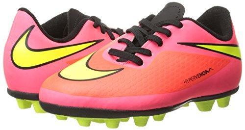 Nike 599073 690 Jr Hypervenom Phade Fg-R Jungen Sportschuhe - Fußball