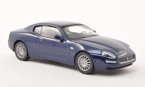 Maserati Coupé, blu scuro , modello di automobile, modello prefabbricato, SpecialC.-68 1:43 Modello esclusivamente Da Collezione