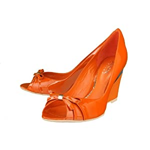 Geox 'Marisol' High Heel Wedges Womens - Orange
