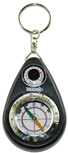 Treknor Traveler Keychain Compass with Thermometer from Treknor