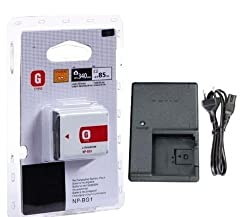BrandNew NP-BG1 Battery+Charger BC-CSG for SONYCybershot DSCW200 DSCW210 DSCW215