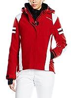 Hyra Chaqueta de Esquí Bormio Lady (Rojo / Blanco)