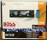 Boss Audio In-Dash Single-Din Detachable Screen Dvd Player Receiver BV7320, 3.2-Inch