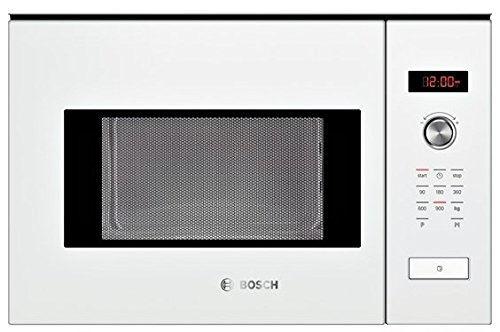 Bosch HMT84M624 Micro-ondes 25 L Noir, Blanc