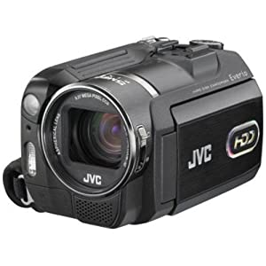 JVC Everio GZMG555 5MP 30GB Hard Disk Drive Camcorder with 10x Optical Zoom (Includes Docking Station)